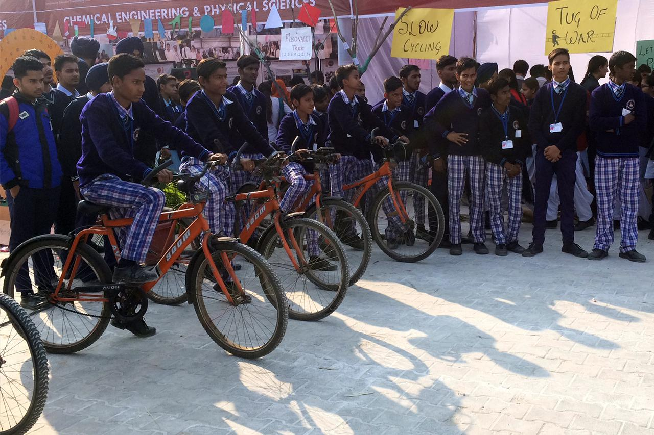 Rally for public awareness by SSD PUBLIC SCHOOL